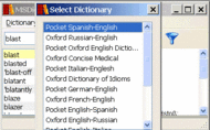 Pocket Oxford German Dictionary Windows Screenshot