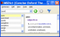 Pocket Oxford English and Thesaurus Win 1