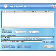 McFunSoft iPod Video Converter Screenshot 2