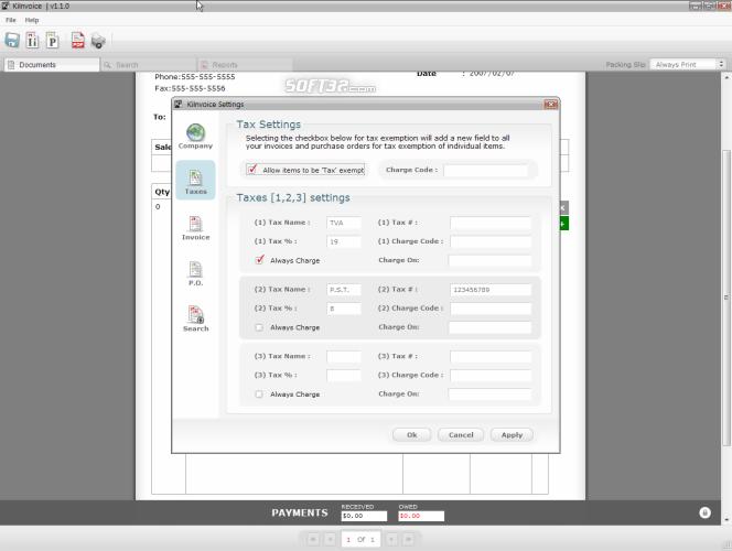 KiInvoice Screenshot 3