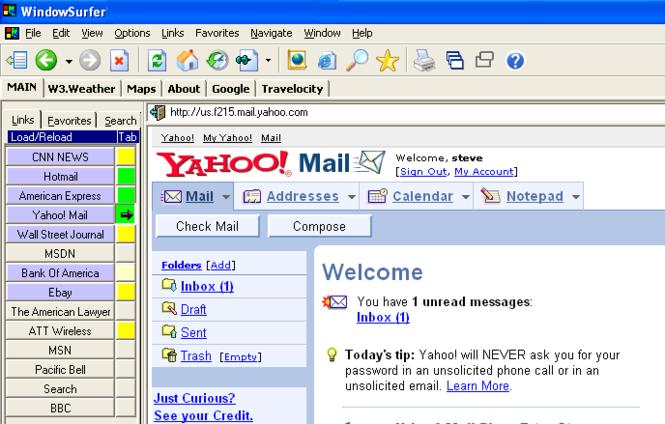 WindowSurfer Screenshot