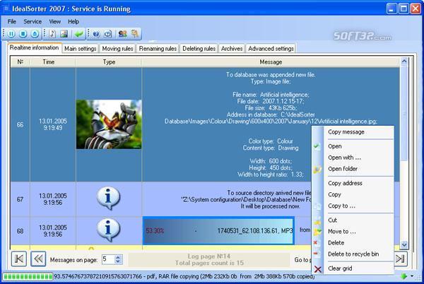 Ideal File Sorter Screenshot 3