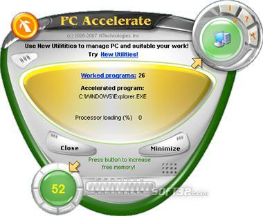 PC Accelerate Screenshot 3