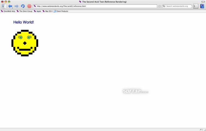 OmniWeb Screenshot 2