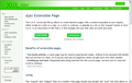 Ajax Extensible Page 1
