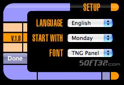 TNG Calendar Screenshot 2