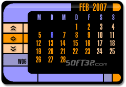 TNG Calendar Screenshot