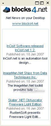 .NET News On Your Desktop Screenshot 2