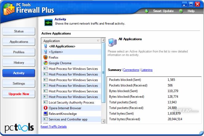 PC Tools Firewall Plus Screenshot 7