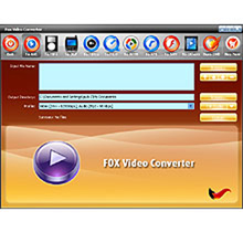Fox Video Converter Screenshot