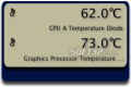Temperature Monitor Widget 1