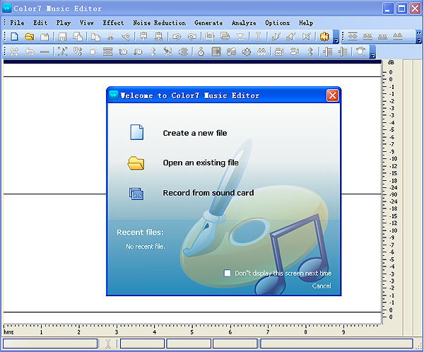 Color7 Music Editor Screenshot 3