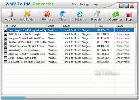 WMV To RM Converter Screenshot 3