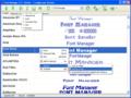Font Manager 1