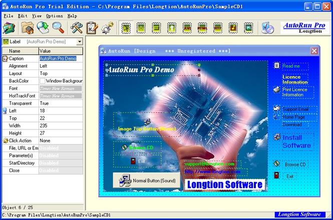 AutoRun Pro Screenshot