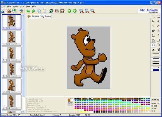 Longtion GIF Animator Screenshot 2
