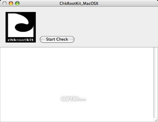 ChkRootKit_MacOSX Screenshot