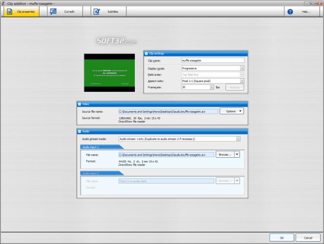 DivX Author Screenshot 2