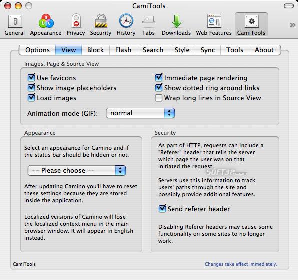 CamiTools Screenshot 2