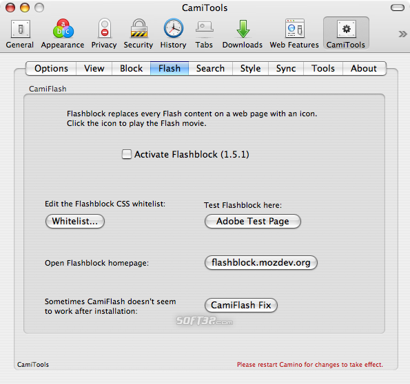 CamiTools Screenshot 4