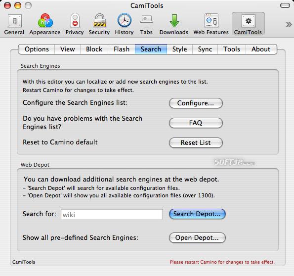 CamiTools Screenshot 5