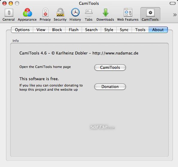 CamiTools Screenshot 9