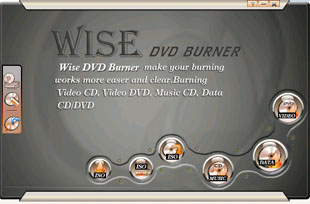 Wise DVD Burner Screenshot