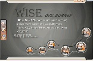 Wise DVD Burner Screenshot 3