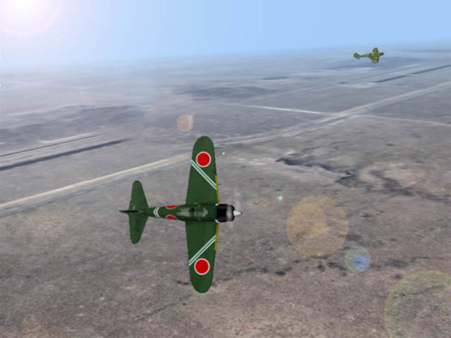 Winged Aces 3D Screensaver Screenshot