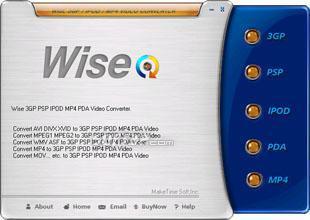 Wise IPOD 3GP PSP Video Converter Screenshot 3