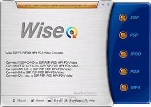 Wise PSP Video Converter Screenshot 3