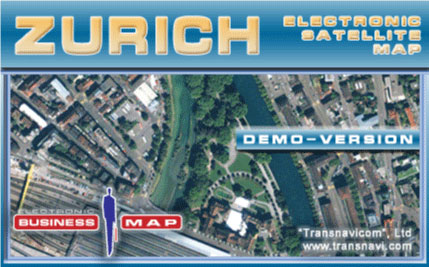 Transnavicom Satellite Map of Zurich Screenshot