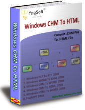 Windows CHM To HTML 2009 Screenshot