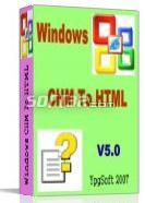 Windows CHM To HTML 2009 Screenshot 3