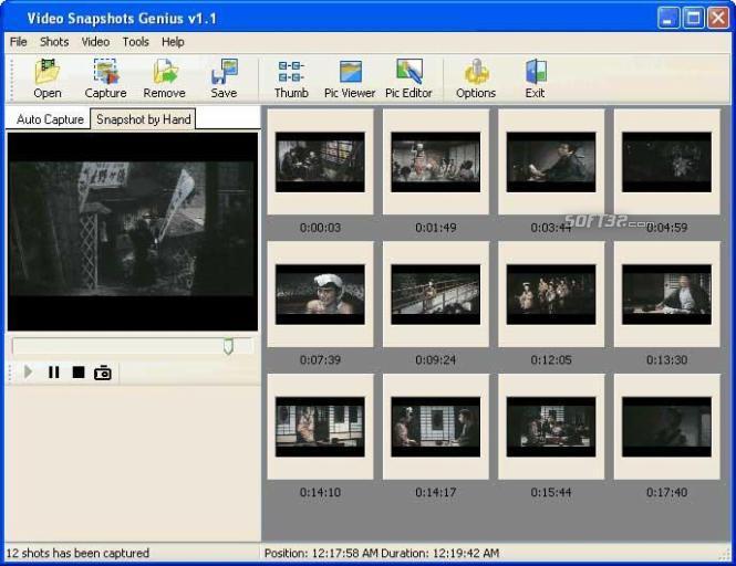 Video Snapshots Genius Screenshot 6