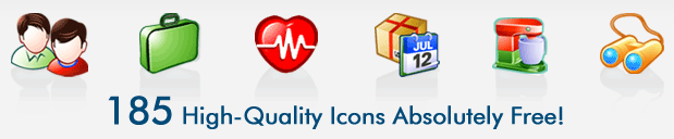 Free Website Icons Screenshot