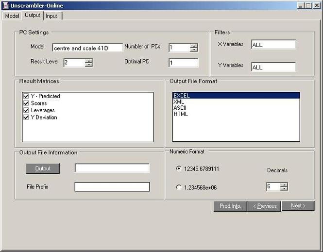 Unscrambler Online Screenshot