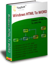 Windows HTML To WORD 2009 Screenshot