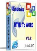 Windows HTML To WORD 2009 Screenshot 3