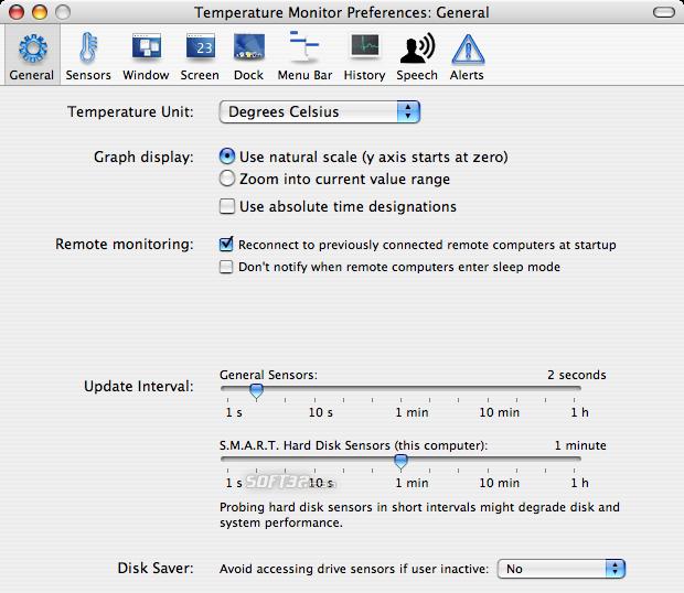 Temperature Monitor Screenshot 2