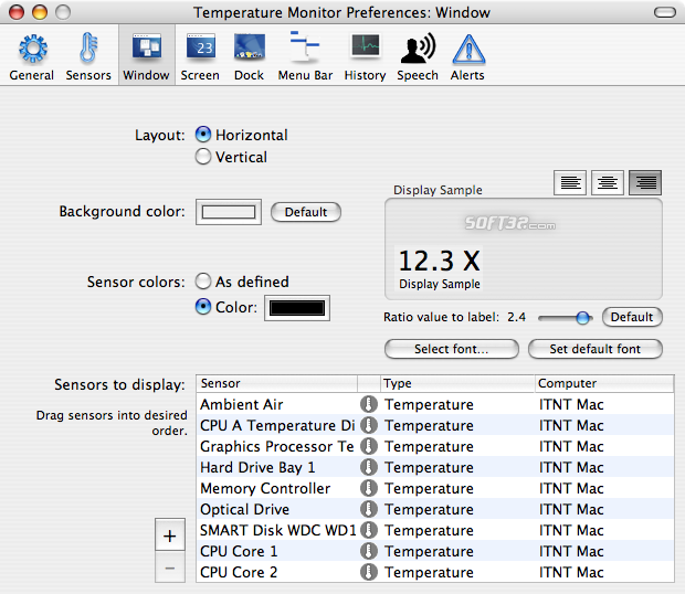 Temperature Monitor Screenshot 4