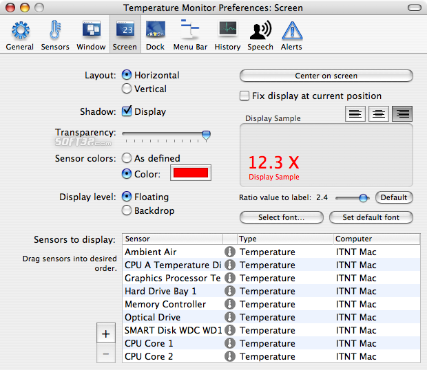 Temperature Monitor Screenshot 5
