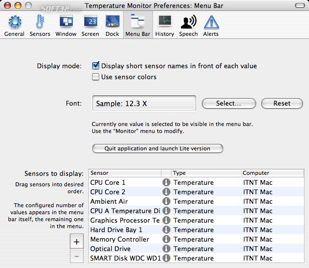 Temperature Monitor Screenshot 7
