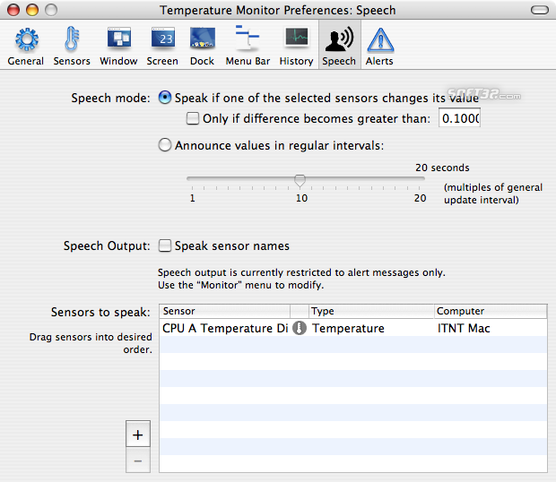 Temperature Monitor Screenshot 9