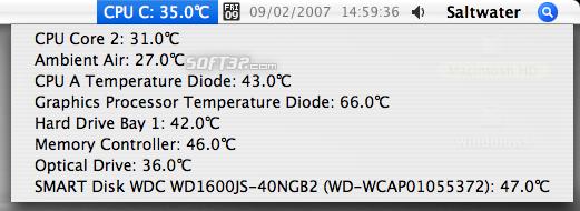 Temperature Monitor Screenshot