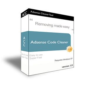 Adsense Code Cleaner Screenshot