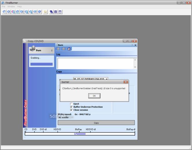 FinalBurner PRO Screenshot 4