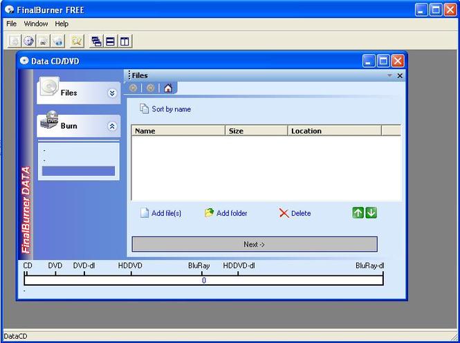 FinalBurner PRO Screenshot 1