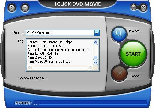 1CLICK DVD MOVIE Screenshot 3