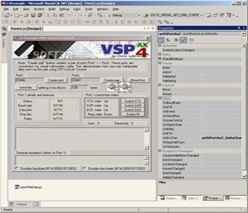 Eltima Virtual Serial Port AX Control Screenshot 3